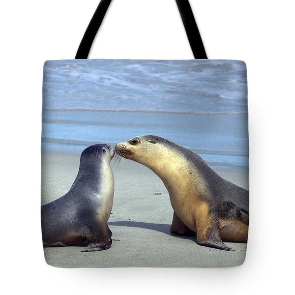 A Mothers Love Tote Bag by Mike  Dawson