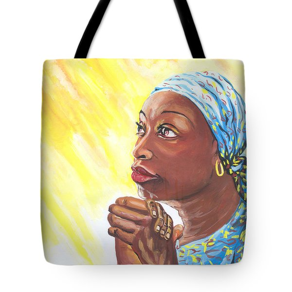 A Mothers Prayer Tote Bag