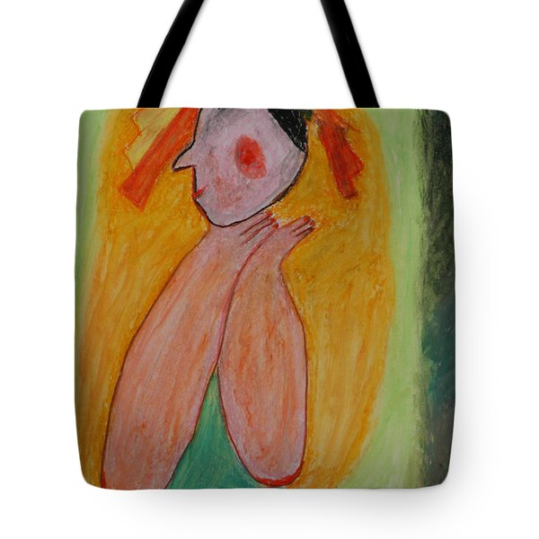 A Mother's View Of Baby Tote Bag by Harris Gulko