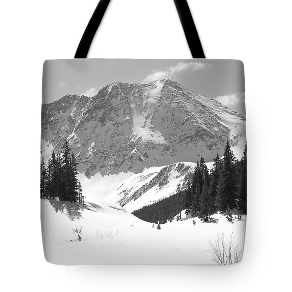 Tote Bag featuring the photograph A Mountain Is A Buddha by Eric Glaser