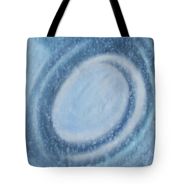 Tote Bag featuring the painting A Moving by Min Zou