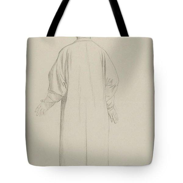 A Muslim Preparing For Prayer Tote Bag