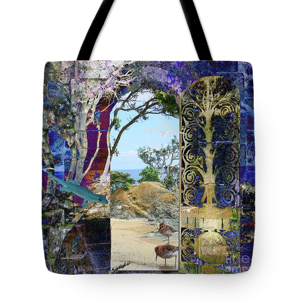 A Narrow But Magical Door Tote Bag