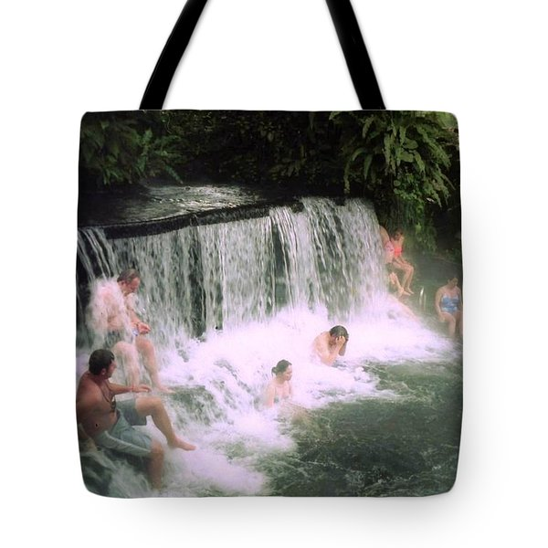 A Natural Warm Shower  Tote Bag