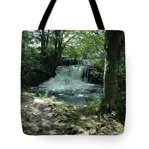 A Nature Trail - Waterfall Tote Bag