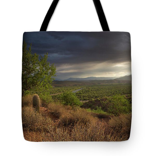 A New Beginning Tote Bag by Sue Cullumber