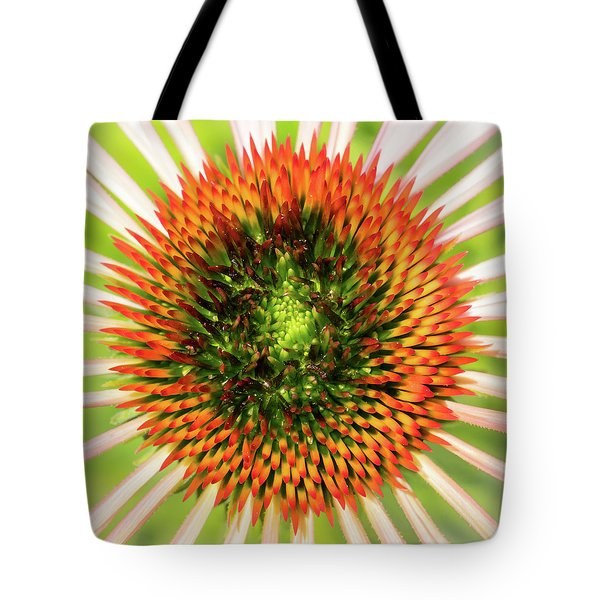 A New Coneflower Tote Bag by Jim Hughes