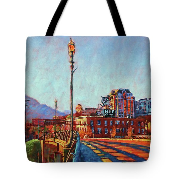A New Day Tote Bag by Bonnie Mason