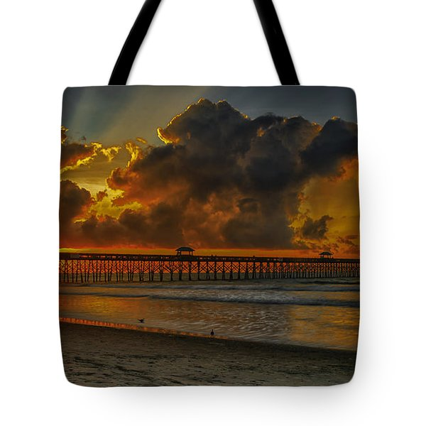 A New Day Dawns Tote Bag