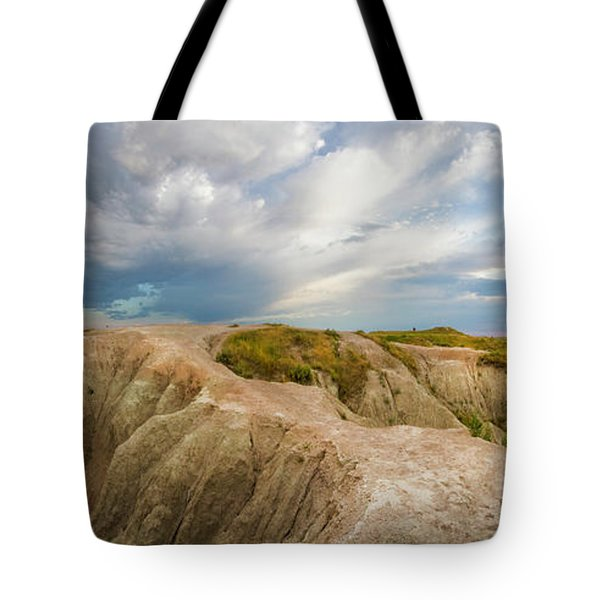 A New Day Panorama Tote Bag