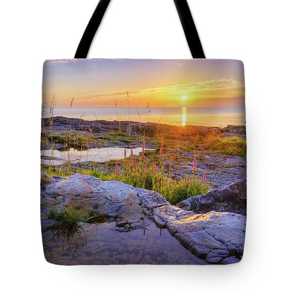 A New Day's Born Tote Bag