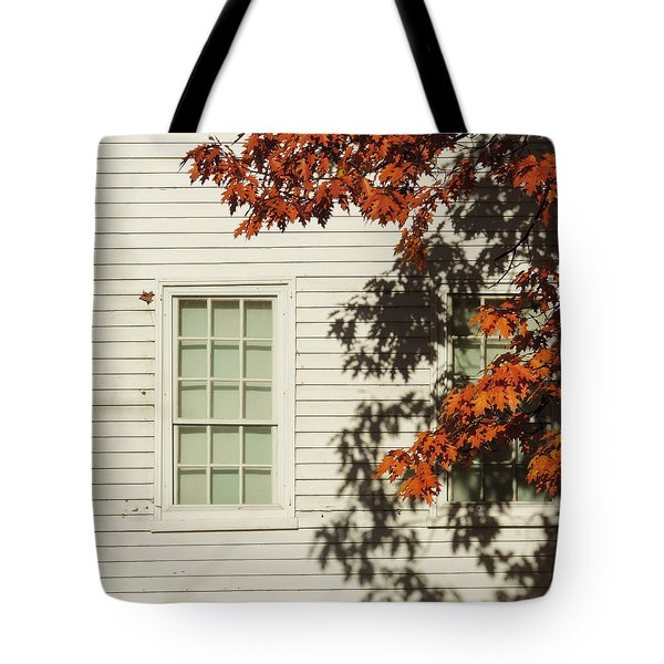 A New England Composition Tote Bag