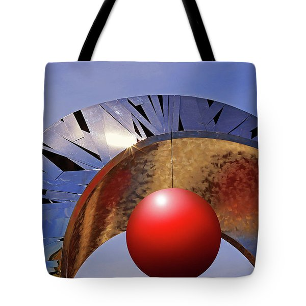 Tote Bag featuring the photograph A New Horizon by Christopher McKenzie