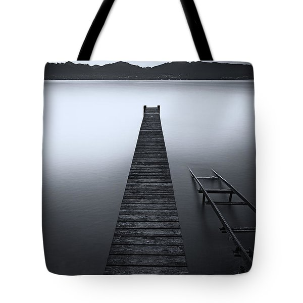 A New Monochrome Day Tote Bag by Dominique Dubied