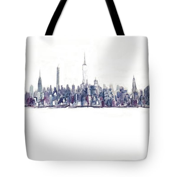 A New Year In Manhattan Tote Bag