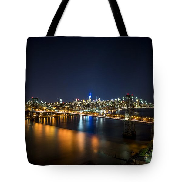A New York City Night Tote Bag