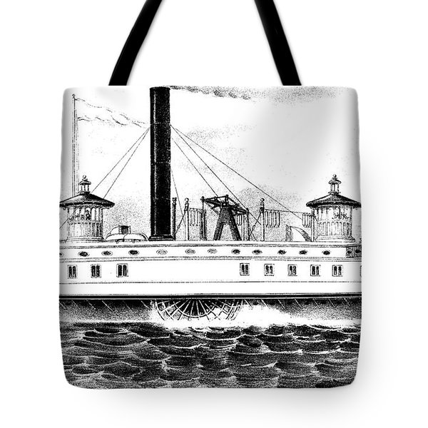 A New York Ferry Boat Tote Bag