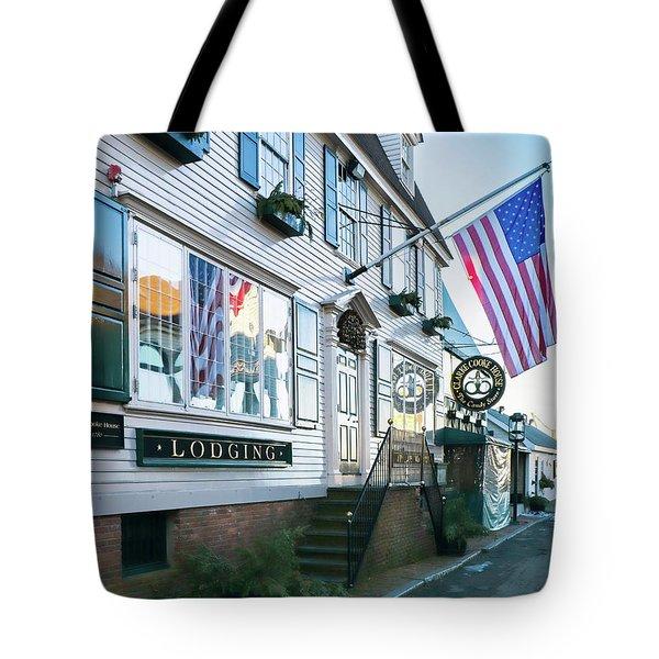 A Newport Wharf Tote Bag