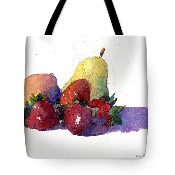 Still Life With Pears Tote Bag