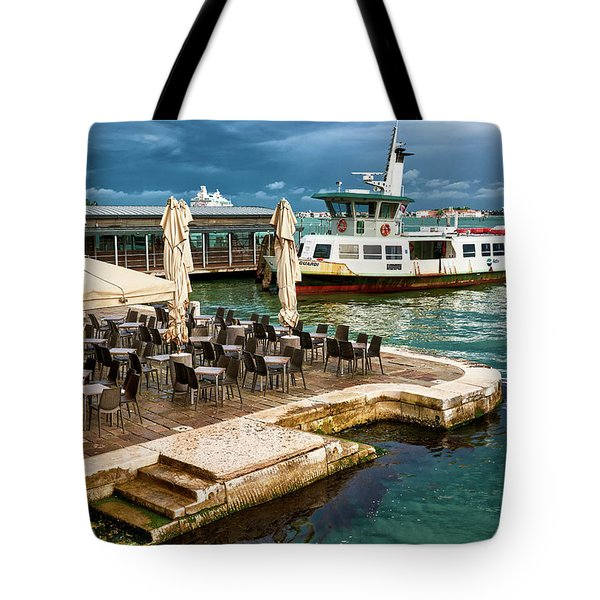 A Nice Place To Eat In Venice Tote Bag