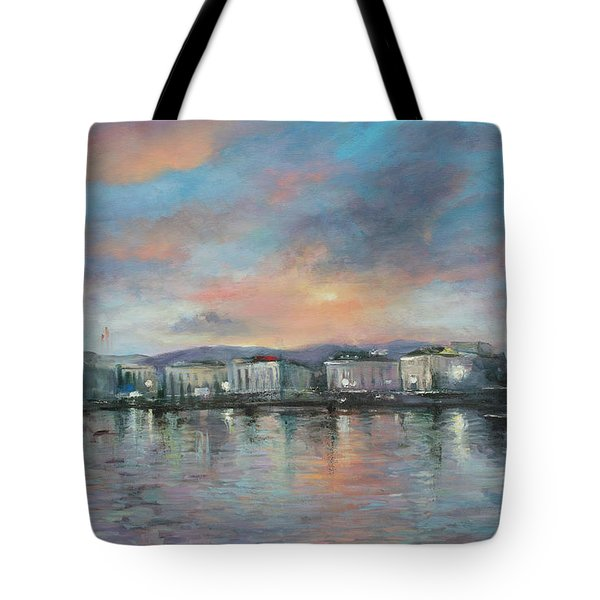 A Night At Geneva Tote Bag