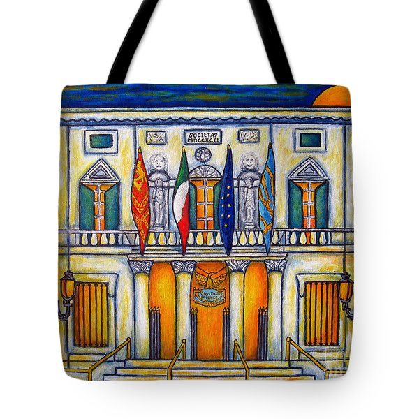 A Night At The Fenice Tote Bag
