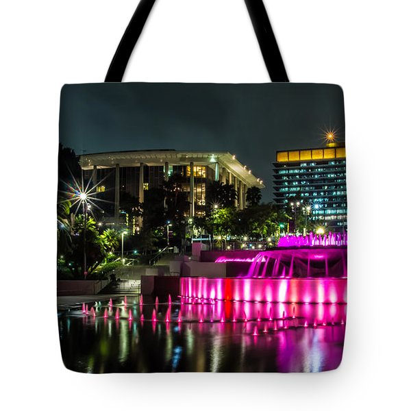 Tote Bag featuring the photograph A Night In Los Angeles by April Reppucci
