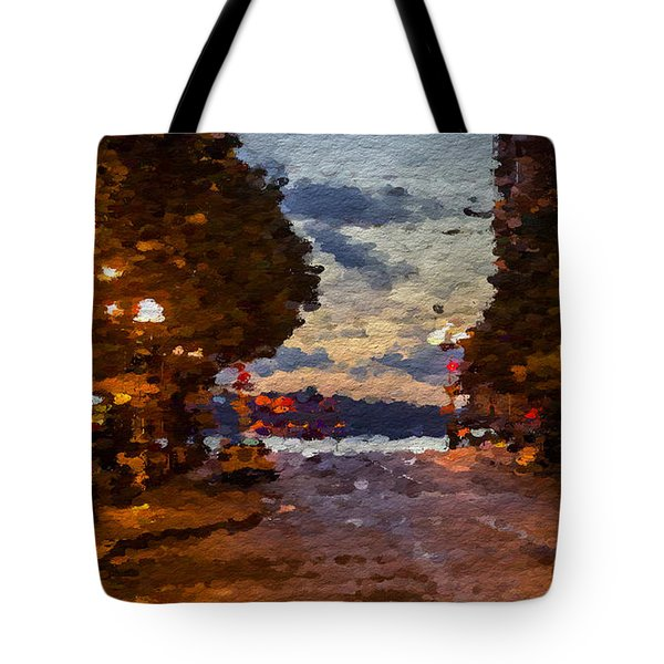 A Night Out On The Town Tote Bag