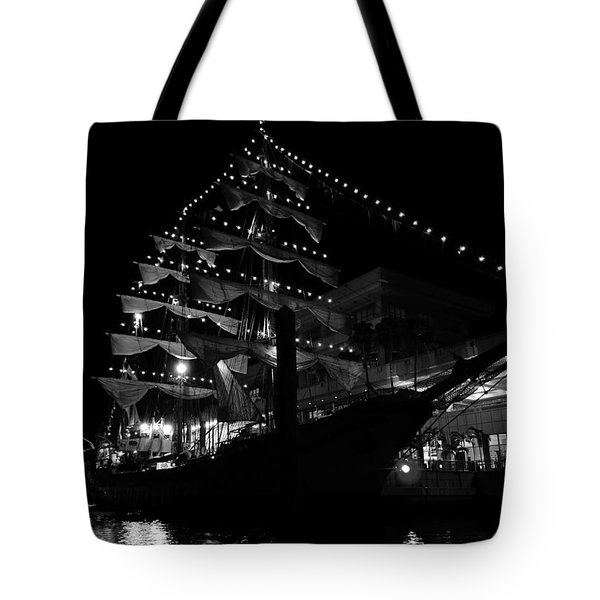 A Night With Gloria Tote Bag
