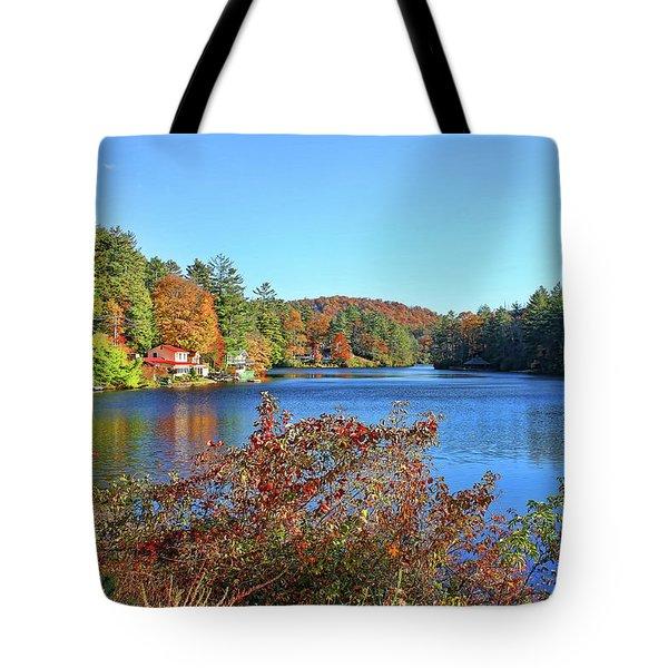 A North Carolina Autumn Tote Bag