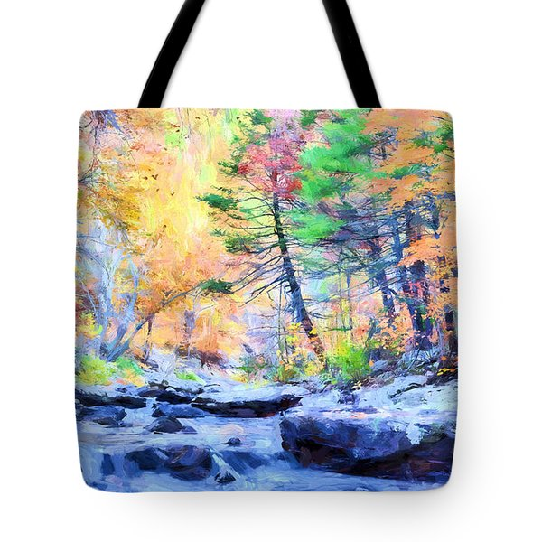 Tote Bag featuring the photograph A North Alabama Autumn by JC Findley