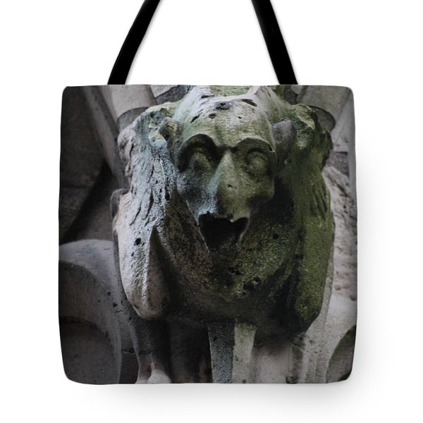 Tote Bag featuring the photograph A Notre Dame Griffon by Christopher Kirby
