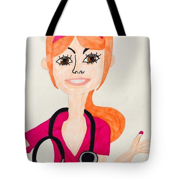 A Nurse  Tote Bag