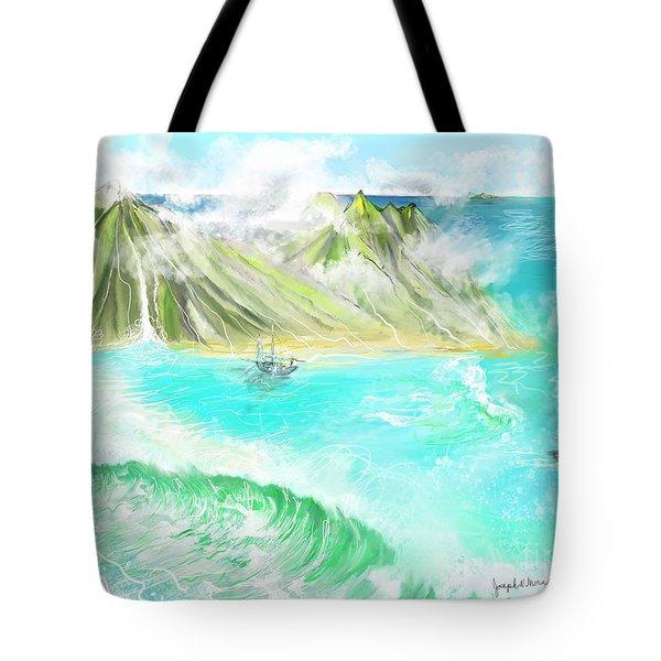 A Ocean Some Where Tote Bag