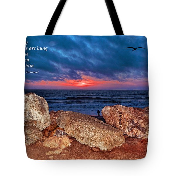 A Painted Sky For The Poet's Eye Tote Bag