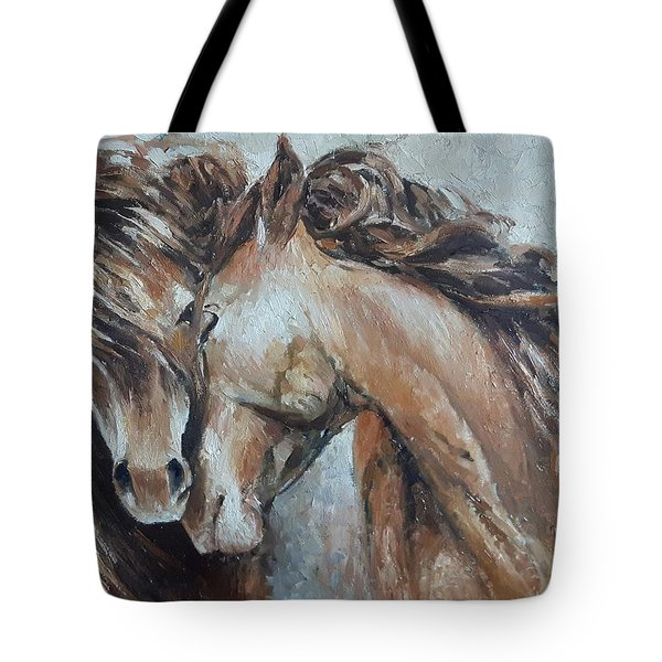 A Painting About Love  Tote Bag