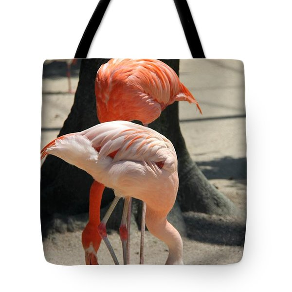 A Pair Of Flamingo Tote Bag