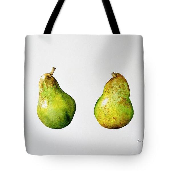 A Pair Of Pears Tote Bag