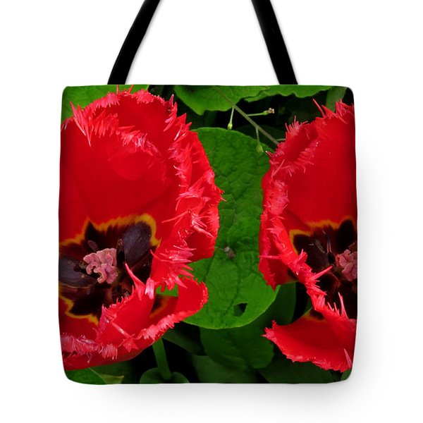 A Pair Of Poppies Tote Bag