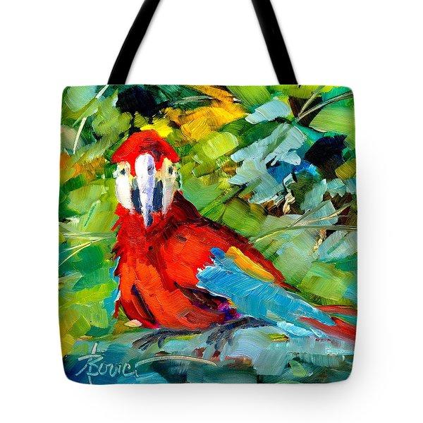 Papagalos Tote Bag