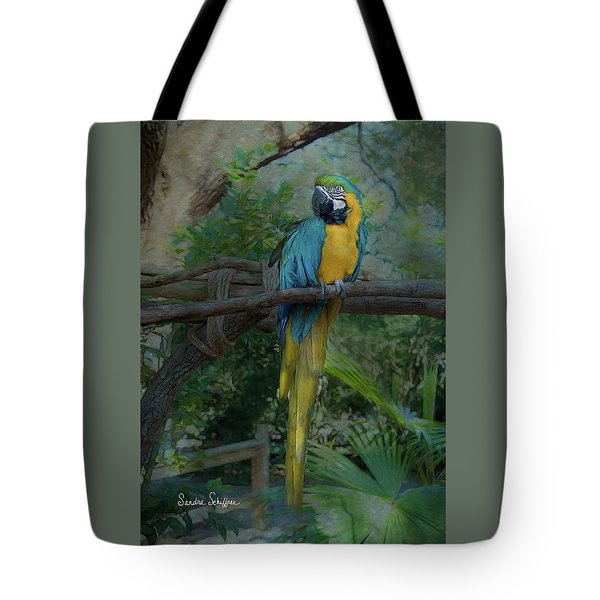 A Parrot's Life Tote Bag