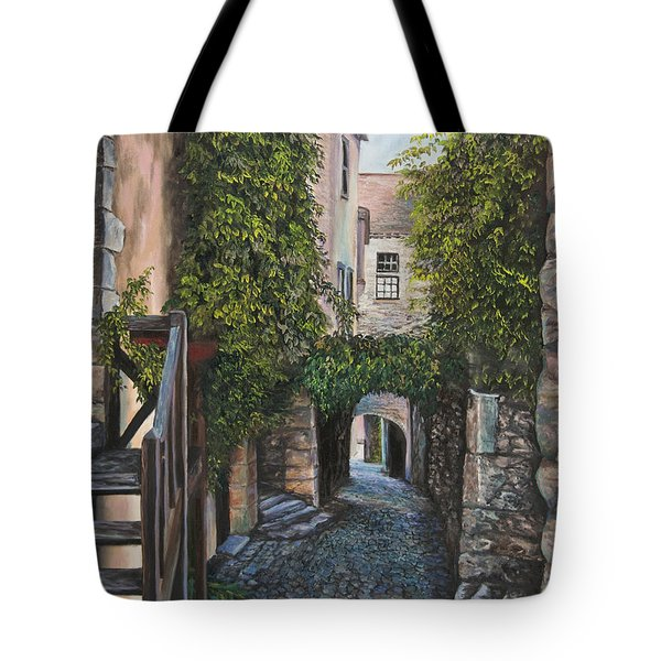 A Passage In Time Tote Bag by Charlotte Blanchard