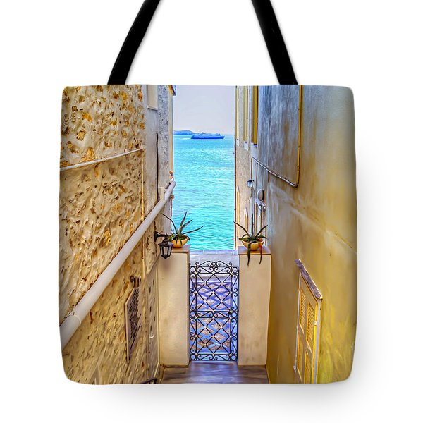 A Passage To The Sea Tote Bag