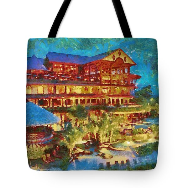 Tote Bag featuring the photograph A Passion For Paradise by Mario Carini