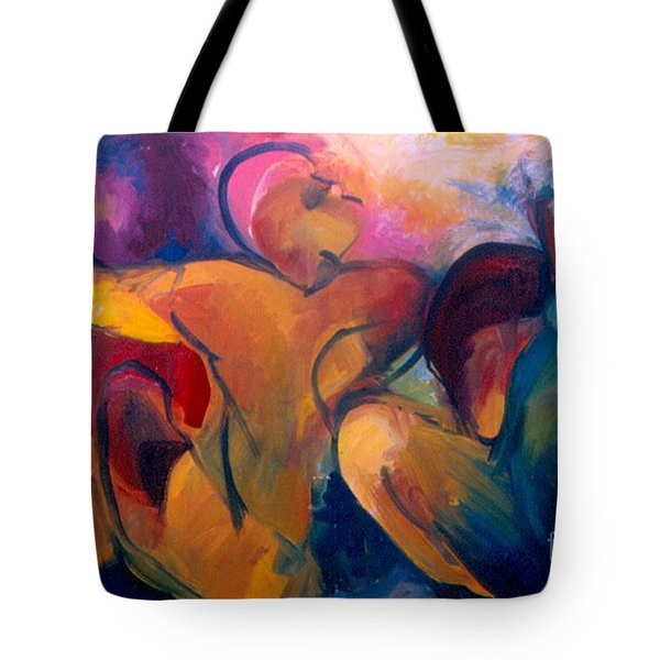 A Passion To Be Raised Tote Bag by Daun Soden-Greene