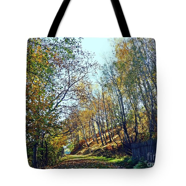 A Path In The Autumn Tote Bag