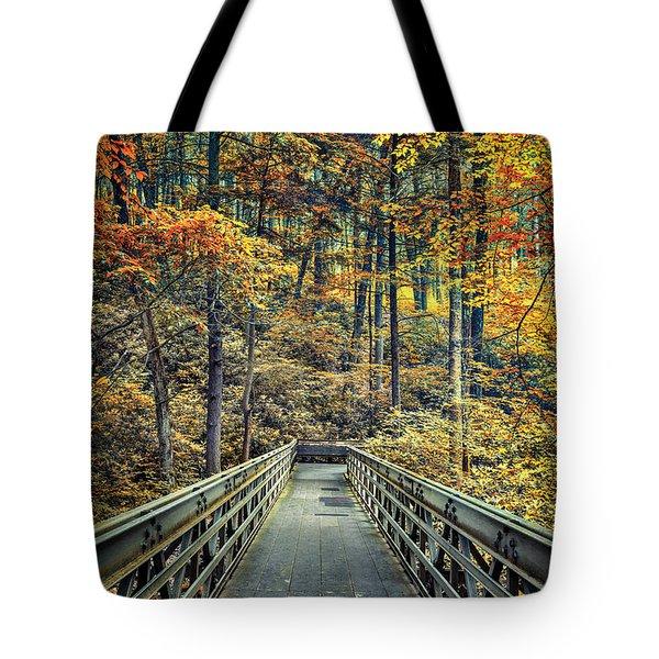 A Path Into Autumn Tote Bag