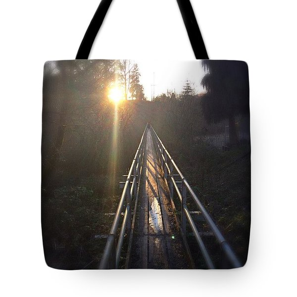 A Path Into The Unknown Tote Bag