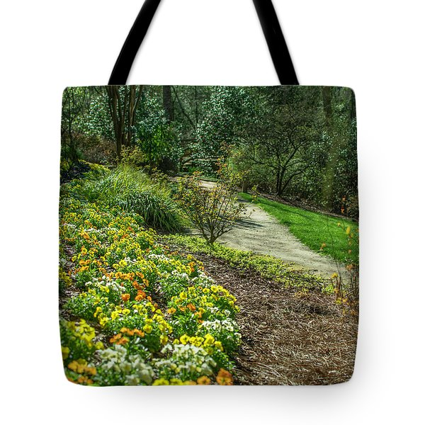 A Path Of Color Tote Bag