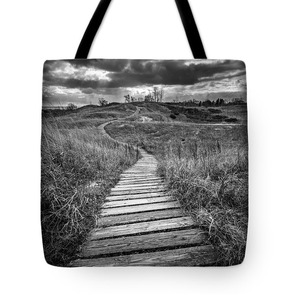 A Path Unwound Tote Bag